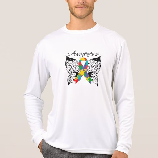 Tattoo Butterfly Awareness - Autism Shirts