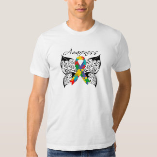 Tattoo Butterfly Awareness - Autism Shirts