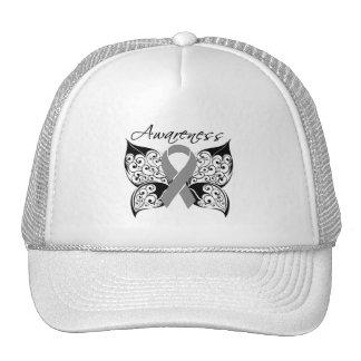 Tattoo Butterfly Awareness - Brain Tumor Hat