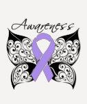 Tattoo Butterfly Awareness - General Cancer T Shirt
