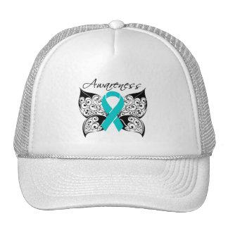 Tattoo Butterfly Awareness - Gynecologic Cancer Trucker Hat