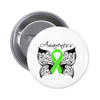 Tattoo Butterfly Awareness - Lyme Disease Pins