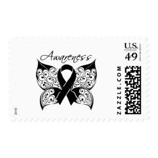 Tattoo Butterfly Awareness - Melanoma Stamp