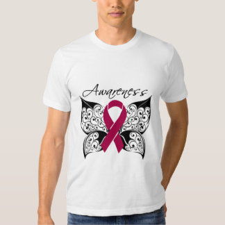 Tattoo Butterfly Awareness - Multiple Myeloma T-shirt