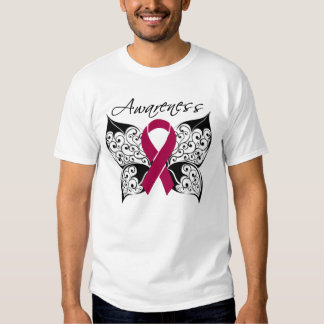 Tattoo Butterfly Awareness - Multiple Myeloma Tshirts