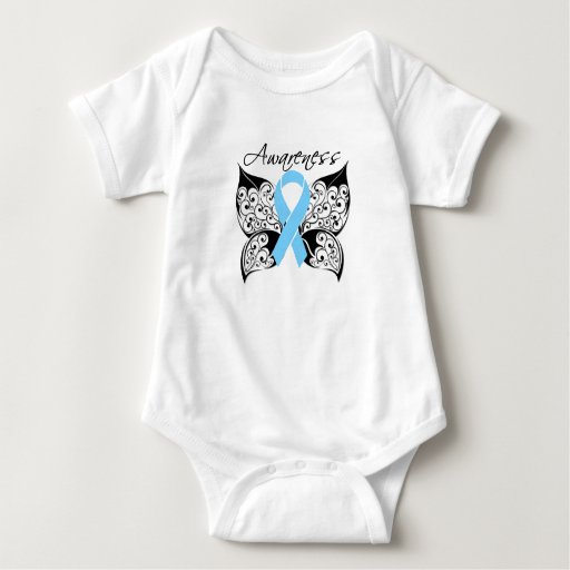 Tattoo Butterfly Awareness - Prostate Cancer Infant Creeper
