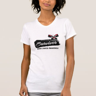 Tattoo Butterfly Brain Cancer Survivor T-shirt