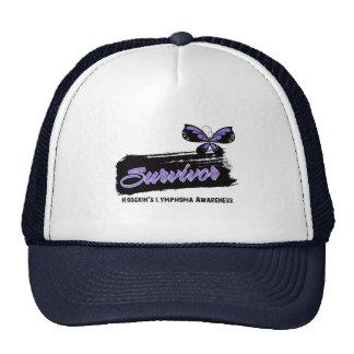 Tattoo Butterfly Hodgkins Disease Survivor Trucker Hat