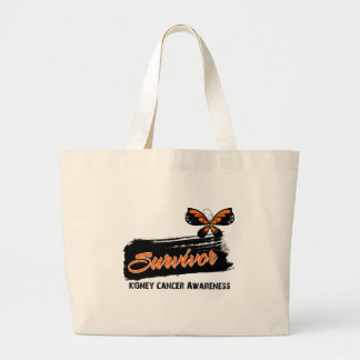 Tattoo Butterfly Kidney Cancer Survivor Canvas Bags