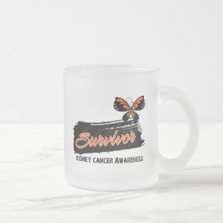 Tattoo Butterfly Kidney Cancer Survivor Coffee Mug