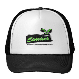 Tattoo Butterfly NonHodgkins Lymphoma Survivor Trucker Hat