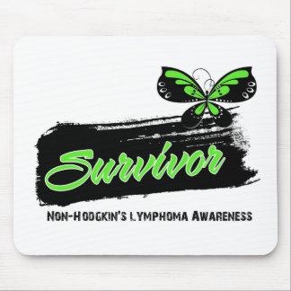 Tattoo Butterfly NonHodgkins Lymphoma Survivor Mouse Pad