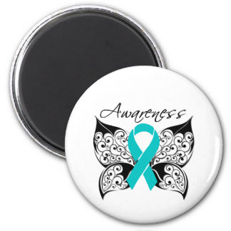 Tattoo Butterfly - Polycystic Kidney Disease Magnets