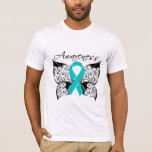 Tattoo Butterfly - Polycystic Kidney Disease T-Shirt