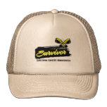 Tattoo Butterfly Sarcoma Survivor Trucker Hat