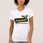 Tattoo Butterfly Sarcoma Survivor Tshirts