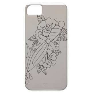 Tattoo dagger case iPhone 5 covers