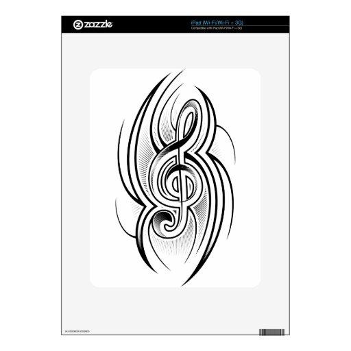 Tattoo Design iPad Decal
