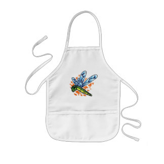 Tattoo Dragonfly Products Collection Kids' Apron