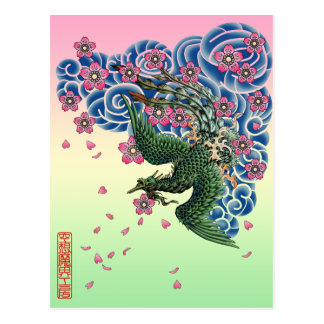Tattoo Fenghuang Postcards