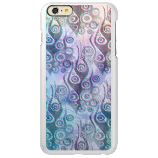 Tattoo flames & circles pattern + your backgr. incipio feather shine iPhone 6 plus case