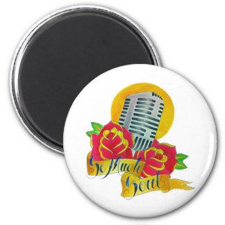 Tattoo flash Old school microphone Magnet