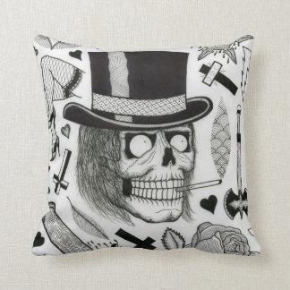 tattoo flash pillow