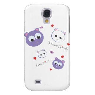 Tattoo Friends purple Samsung S4 Case