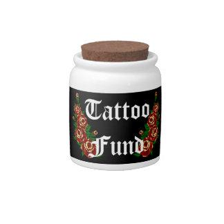 Tattoo Fund Candy Jar