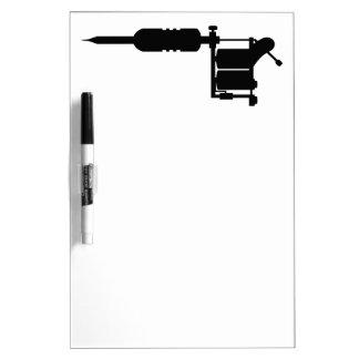 tattoo gun Dry-Erase board