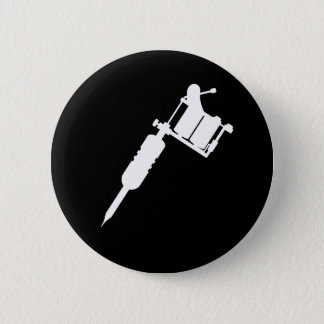 tattoo gun pinback button
