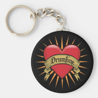 Tattoo Hear Drumline Keychain