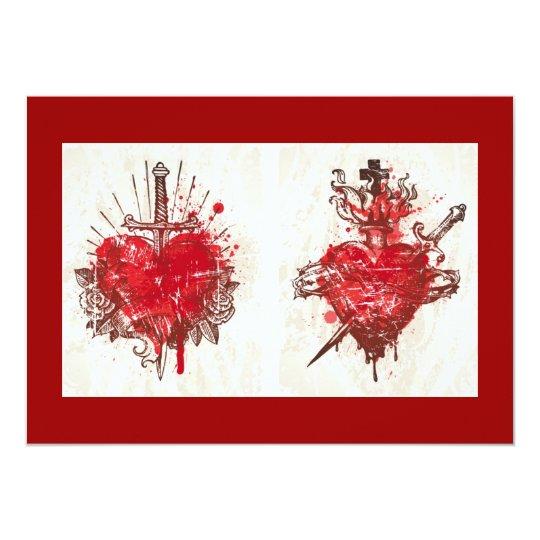 Tattoo Heart (1) Card