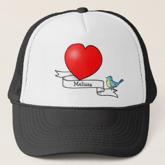 Tattoo Heart for Kids Cap