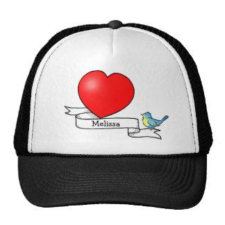 Tattoo Heart for Kids Cap Trucker Hat