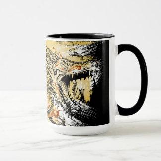 Tattoo Henna Dragon Mug