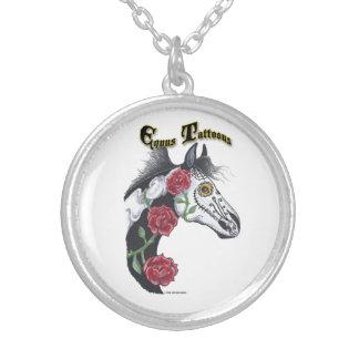 Tattoo Horse (Equus Tattoous) Necklace
