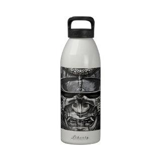 tattoo japanese reusable water bottle