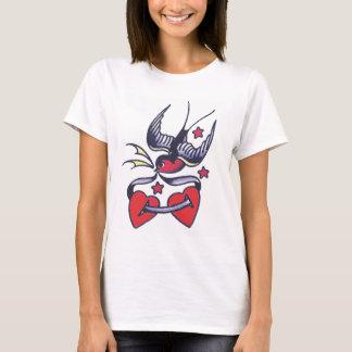 Tattoo Love Bird T-Shirt