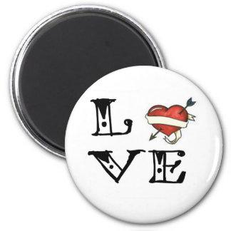 Tattoo Love Heart Magnet