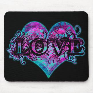 Tattoo Love Mouse Pad