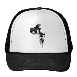 Tattoo Machine Gun Stencil Style Tees Trucker Hat