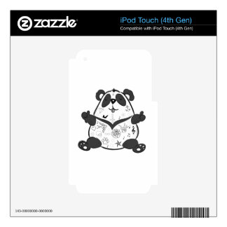 Tattoo panda skins for iPod touch 4G