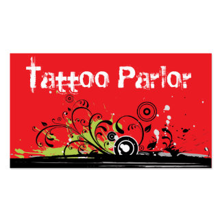 Tattoo Parlor Business Card
