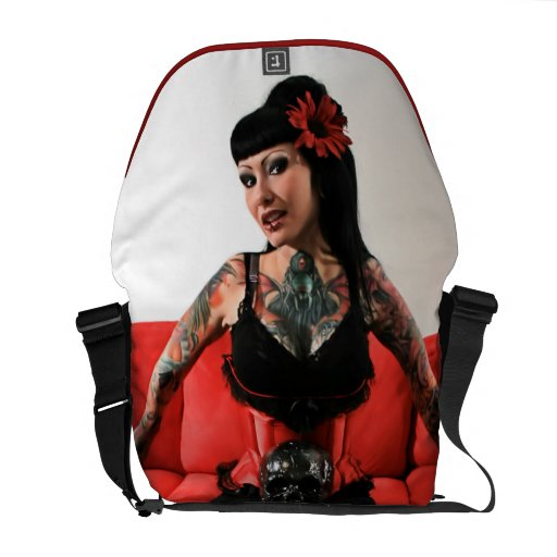Tattoo Pin Up Commuter Bags