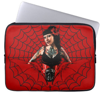 Tattoo Pin Up Laptop Computer Sleeves