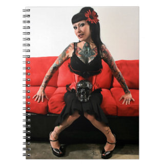 Tattoo Pin Up Note Books
