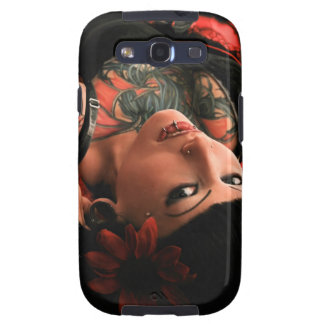 Tattoo Pin Up Samsung Galaxy S3 Cover