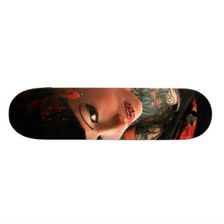 Tattoo Pin Up Skateboard Deck