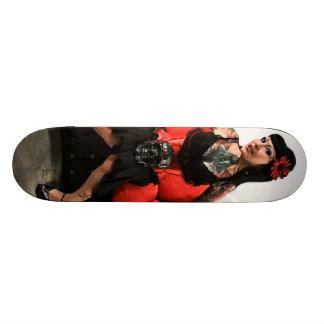 Tattoo Pin Up Skateboard Deck